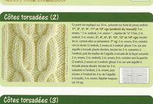 Tipos de pontos tricô e crochet