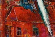 Chagall e Kandinsy