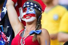 USA Fans Girls