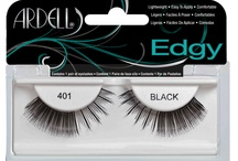 Ardell - Edgy Lashes / Ardell's new Edgy lash is a unique combination of natural strip lashes with accent edges. Each style is designed with a tapered inside with an accentuated edgy flare, to create that glam rock star look. / by Ardell Lashes