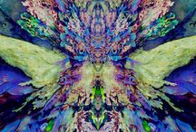 Nature Elementals / Sentinel beings, gentle in nature, within the visible realms of the  earth dimensions