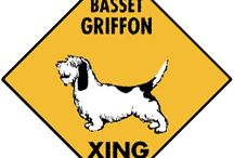 Basset Griffon Signs and Pictures / Warning and Caution Basset Griffon Signs. https://www.signswithanattitude.com/basset-griffon-signs.html
