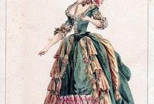 1700s fashion plates
