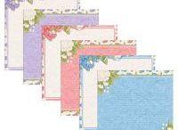 Scrapbook - Paper Packs / Digital Paper Packs by Carolyn Rose Kite available at ScrapGirls