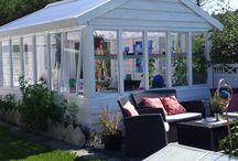old Windows greenhouse