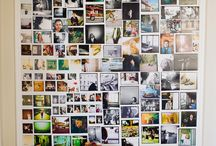 Photo Layouts / Ways to display photos on a wall