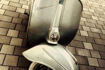 Vespa / Italienische Blechroller