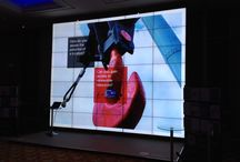 Displays technology projects / An example of our creative solutions using large format displays and video walls