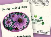 Personalized Native Wildflower Seed Packets
