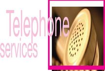 BPO Telephone Services / telephone service was provided by small companies based in given cities and towns as opposed to larger, national or international companies. Telephone calls outside of the local area provided for by these companies were patched through long distance networks / by SEO