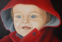 Geschilderde portretten / Dit is ons portfolio van geschilderde portretten op doek. We maken zowel klassieke als moderne portretten in opdracht