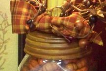 Mason jars!!!!!! / by Crafty Diva I am
