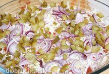 saláty,majonézy,zálivky