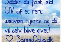 My blog SanneOtilia.dk / Mindfulness, spirituality, New Time Energy and The Golden Era info ♡