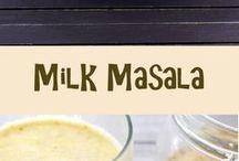 Health powder for milk