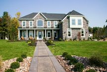 The Face of the Home / Exteriors of houses we've built throughout the years.