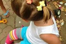 Little girl hairstyles.
