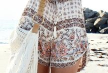 Boho Chic / Interior and clothes. Inspiration.