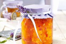 Marmelade und Eingemachtes