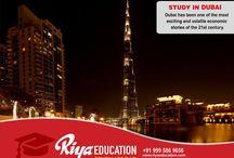 Study in Dubai - Riya Education Pvt Ltd