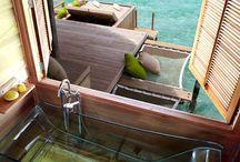 Açık Hava Banyoları / Open Air Baths / Maldivlere gitmeniz için halen bir nedene ihtiyaç duyuyorsanız eğer size en keyiflilerinden bir tane daha sunabiliriz... Açık hava banyoları... #maldiveclub ile #maldivler