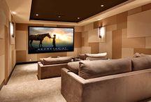 Game and Media Rooms / Game and Media rooms featuring Hubbardton Forge Lighting.
