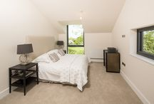 MARSWORTH SHOWHOUSE / This is a new build house in Marsworth, Bucks, built to the latest eco standard and with stunning views of the local canal and countryside.