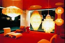 Verner panton / I love his product design. What a wonderful creativity! It′s the best.  It′s my background.