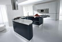 Modern Italian Kitchen Cabinet / PediniLA kitchen cabinet