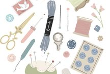 - illustration & collections - / pretty drawings of collections of pretty stuff