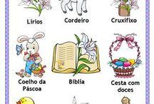 A Páscoa em Português-PLE(Ostern in Portugiesisch) / Nesta pasta você encontra atividades pedagógicas sobre a Páscoa. Use as ideias como inspiração para deixar suas aulas mais divertida!