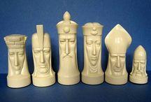 chess I - busts / figury do pasu