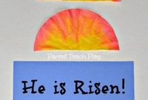 Christian Easter toddler crafts