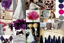 {Wedding} 9.1.12 / Navy, Pink, Gray, and Purple color scheme.