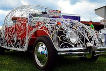 Don't look past this transparent Beetle at #vagfair - photo from vw