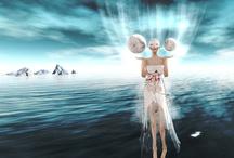 BookLook / BookLook è un'idea dell'artista digitale Aliza Karu, che con la sua linea di abiti ADCreations (http://alizakaru.wordpress.com/)  si distingue per la creatività e la cura delle proprie opere. Il progetto prevede la creazione ogni mese di un abito ispirato a un importante testo narrativo. Gli abiti sono acquistabili e indossabili da chi utilizza il mondo virtuale di Second Life.