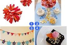 Hanukkah / Hanukkah crafts, recipes, decorations and party ideas