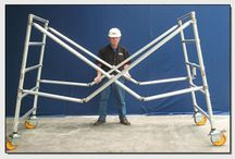 Upright Scaffold Vault Scaffold / by Industrial Man Lifts