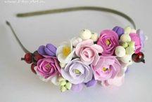 Claycraft - šperky, brože, čelenky