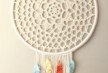 Mandalas em crochet