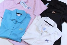 Polos, Long and Short Sleeve T's / Women's polos, long sleeve and short sleeve T's.