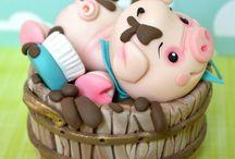 Pig cake idease