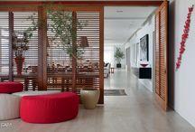 Sala de Estar e TV | Living room and Home Theater