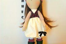 Интерьерная кукла ИНЕС