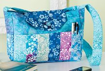Quilt Handbags to Download / Quilt Handbags & Totes to Download / by e-PatternsCentral