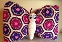 almohadon mariposa