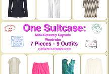 One Suitcase: Mini-Getaway Capsule Wardrobe