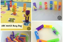 Busy Bag Ideas and Quiet time activities