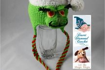 Christmas Crochet / Chain Four Christmas Ideas / by Aimee Arnold
