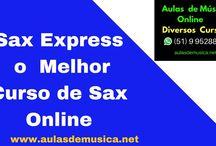 Aulas de Saxofone Online / Encontre os  melhores cursos de Saxofone Online do Brasil ,estude em sua casa  com suporte do professor  e  pague uma parcela mais barata que uma pizza com refrigerante ,saiba mais no whatsap (51) 995288460 ou no site www.aulasdemusica.net